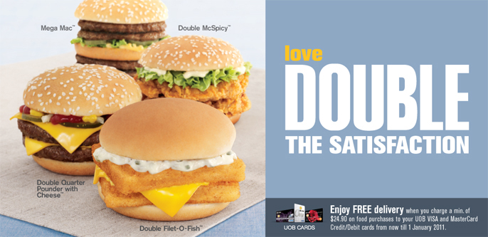 Mcdonald's Double Up